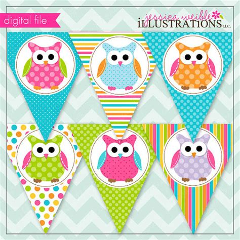 printable owl party decorations polka dot owls theme printable banner printable party