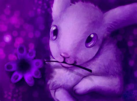 Purple Rabbit purple bunny the color purple
