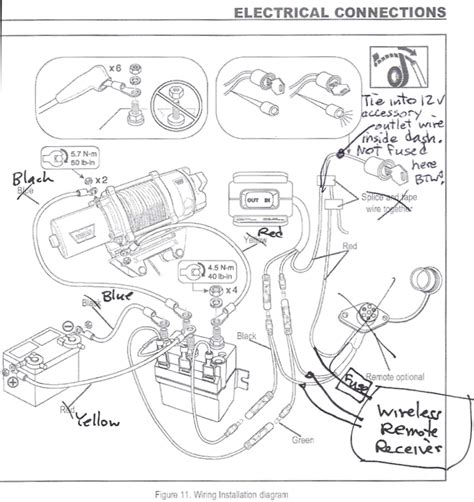 kfi winch contactor wiring diagram fuse box and wiring
