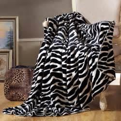 Fashion Zebra Stripes 8059 zebra stripes fashion thick blanket 200x230cm travel hotel sofa throws or decorative