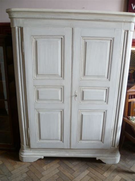 painted armoire wardrobe antique french painted pine armoire wardrobe 212224