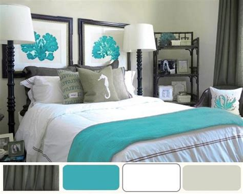grey bedroom with teal accents grey and turquoise bedroom ideas bedroom colors
