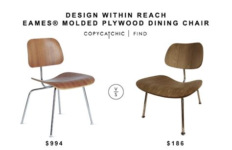 Eames Lounge Chair Copy by Design Within Reach Eames 174 Molded Plywood Dining Chair