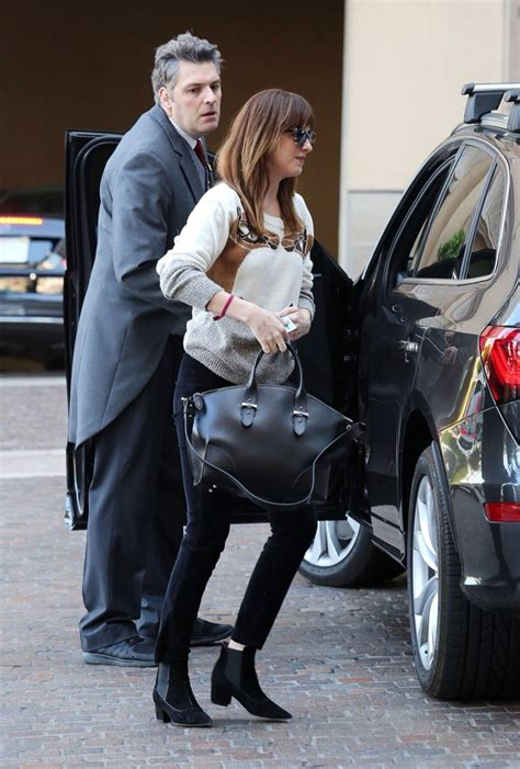 Dakota Johnson Tote Bag mcqueen legend tote liska farfetch