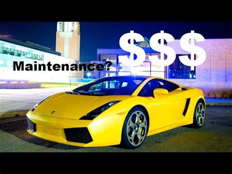 how much lamborghini gallardo cost how much owning and maintaining a lamborghini gallardo