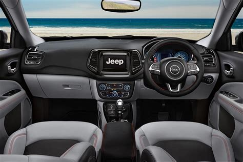 jeep compass interior jeep compass launched in india at inr 14 95 lakh autobics