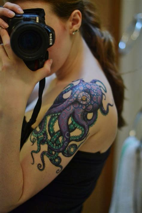 octopus tattoo girl 16 best chrysanthemums images on