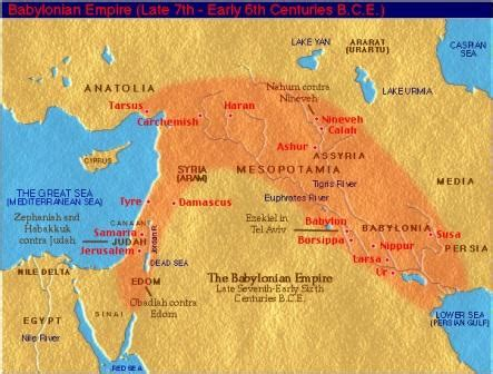 babylon and jerusalem map one year bible september 13th one year bible readings