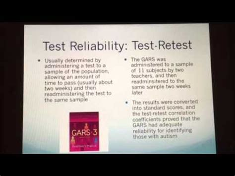 gars 2 sle report test review project gilliam autism rating scale