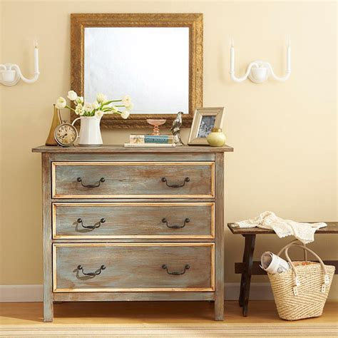 How To Antique A Dresser With Paint by Source