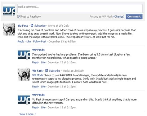 comment section html how to integrate facebook twitter and google in