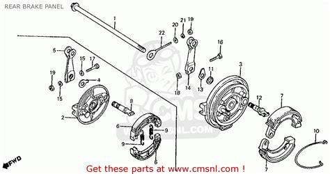 honda qa50 parts diagram engine diagram and wiring diagram
