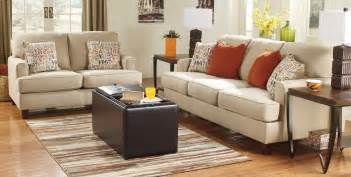 Livingroom Furniture Set buy ashley furniture 1600038 1600035 set deshan birch living room set