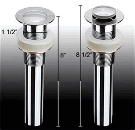 pop up bathtub drain stopper 1 1 2 quot kitchen bathtub sink pop up drain stopper chrome