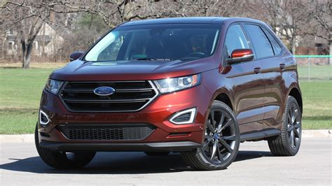 jeep ford 2015 ford edge vs 2015 jeep grand cherokee youtube