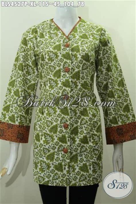 Baju Batik Perempuan Dewasa pakaian blus batik perempuan dewasa ukuran xl baju batik modern bahan halus motif unik proses