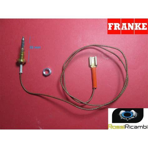 termocoppia piano cottura franke franke termocoppia sicurezza gas cucina admiral fornelli