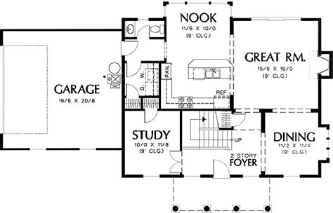 federal style house floor plans federal style plan with high ceilings 69283am 2nd