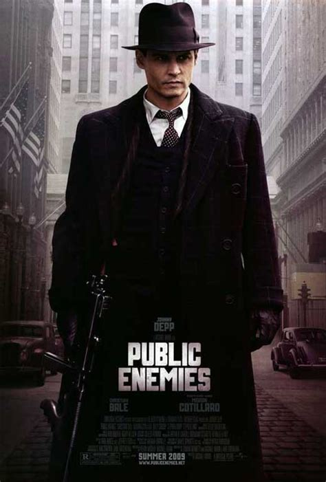 film gangster johnny depp public enemies movie posters from movie poster shop