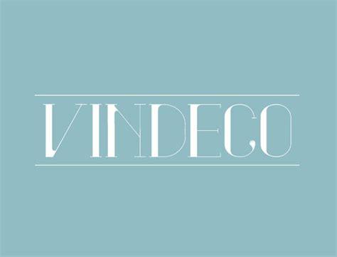 vindeco font classic decorative vintage typeface
