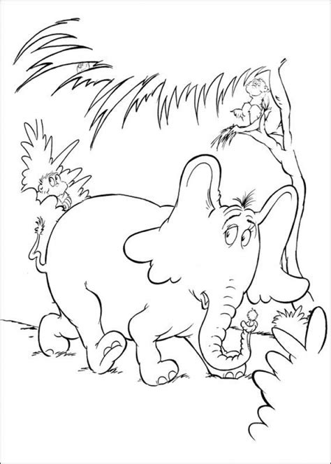 dr seuss coloring pages free printables www imgkid com
