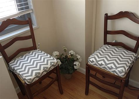 custom chair pads choose your size design easy - Custom Indoor Chair Cushions