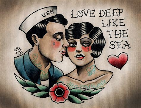 sailor couple tattoo ink it up traditional tattoos with quyen dinh