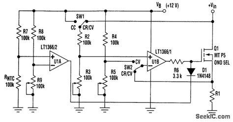 resistor load circuit diagram active load resistor basic circuit circuit diagram seekic
