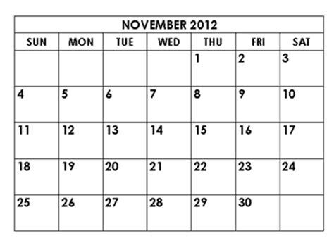 free printable calendar november december 2012 calendar 2012 free printable calendar november 2012