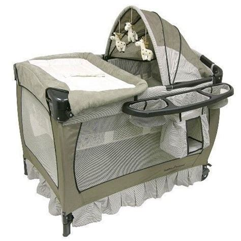 playpen bassinet changing table nursery playpen musical baby play yard furniture bassinet