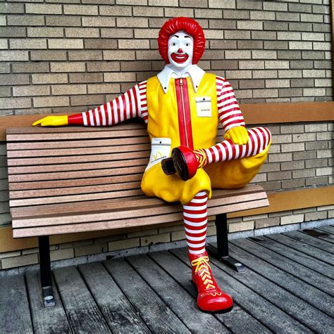 ronald mcdonald bench ronald mcdonald statue stolen 500 reward offered the