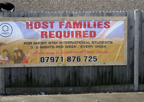 design banner homestay can you display a banner or board for homestay news