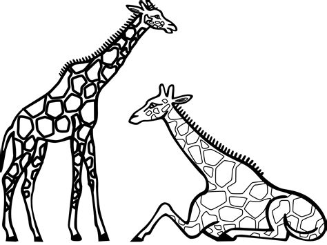 clip art of giraffe cliparts co