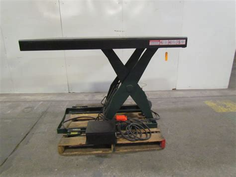 southworth electric scissor lift table 3ph 5800 lb cap