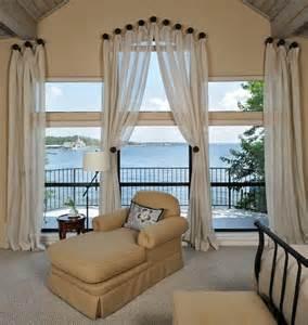 Ideas For Hanging Curtain Rod Design 欧式风格客厅阳台窗帘装修图片 窗帘装饰效果图 土巴兔装修效果图