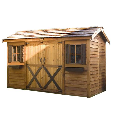Sheds 12x8 by Cedarshed Longhouse 12x8 Shed Lh128 Free Shipping