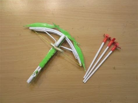 How To Make Crossbow Out Of Paper - how to make a paper crossbow crossbow easy
