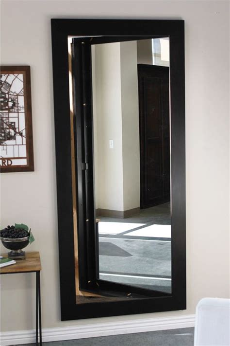 mirror door inswing house ideas hidden rooms secret