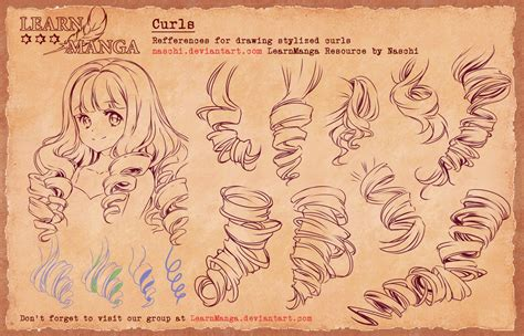 doodle drawing style learn basics curls 4 refference by naschi on deviantart