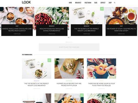 blogs recetas cocina 25 mejores temas para blogs de recetas de