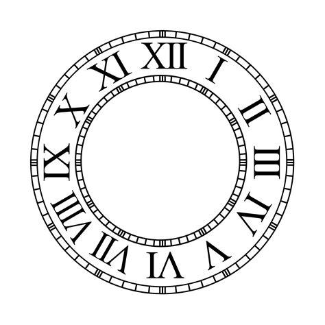 template clock vector clock faces clip art cliparts co