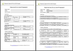 update 27112 employee appraisal form sample 36