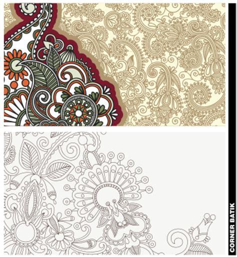 template undangan batik cdr corner batik format coreldraw belajar coreldraw