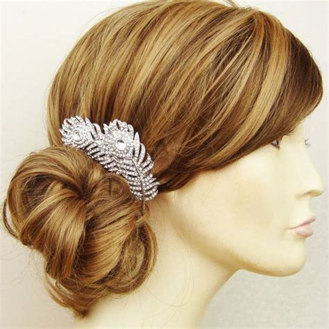 Vintage Style Wedding Hair Accessories by Vintage Style Wedding Bridal Hair Comb Wedding Hair