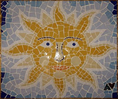 mosaic pattern for sun mosaic sunrise is always here
