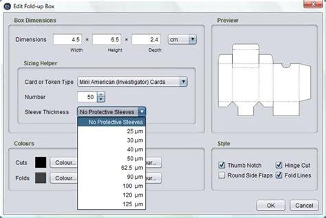 Card Tuck Box Template by Card Tuck Box Templates Page 2 Talisman Home Brews
