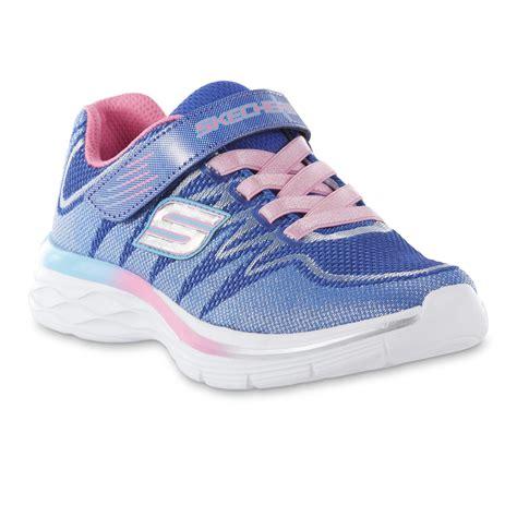 Skechers And Dash Pink Skechers N Dash Blue Pink Silver Athletic