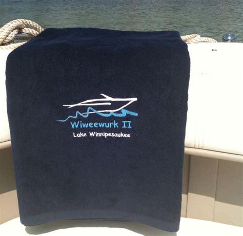 boat beach towels custom embroidered boat beach towel nautical pinterest