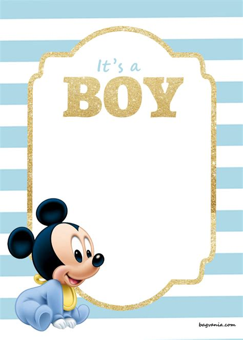 Printable Disney Baby Shower Invitations by Free Printable Disney Baby Shower Invitations Free