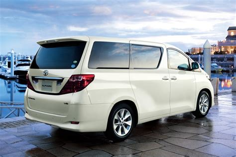 Toyota Alphard 2 4 Review Review Toyota Alphard Specification